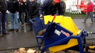 getlinkyoutube.com-Oxdale Products Ltd Saw Bench, Log Saw, Log Splitter