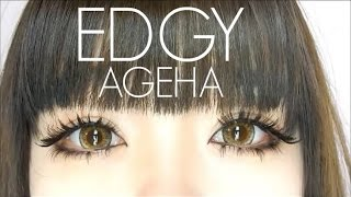getlinkyoutube.com-Edgy Japanese Ageha Eye Makeup