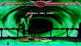 getlinkyoutube.com-Mortal Kombat Chaotic - MK1 Reptile playthrough