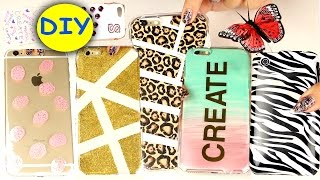 getlinkyoutube.com-20 DIY Phone Cases! Easy DIY Cell Phone Case
