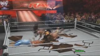 WWE SmackDown vs. Raw 2011: EXTREME MOMENTS! - Spulpacz