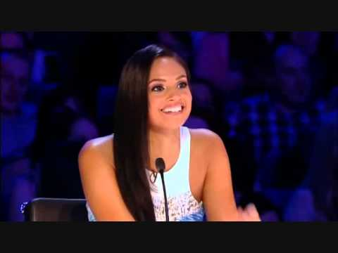 Alesha Dixton - úúú bonjour at britain's got talent 2012
