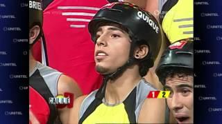 getlinkyoutube.com-'FUERZAS OPUESTAS': El equipo AMARILLO vence en al equipo ROJO!!!
