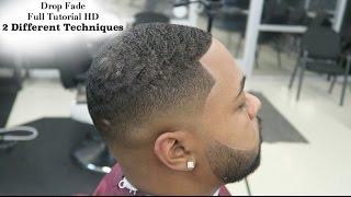 getlinkyoutube.com-HD Barber Tutorial: Martin Lawrence Drop Fade: 2 Different Techniques: Full Length