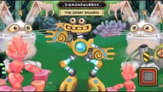 getlinkyoutube.com-[My Singing Monsters] Water island jeeode, wubbox, blabbit, rare cybop, rare scups, rare spunge