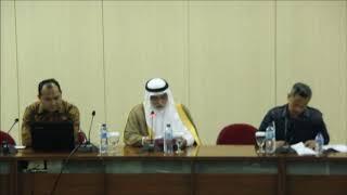 Kuliah Umum Duta Besar Kerajaan Arab Saudi: H. E. Mr. Osama Mohammed A. Alshuaibi