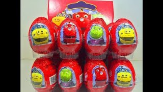 getlinkyoutube.com-Киндер Яйца Сюрприз по мультику Чаггингтон,Unboxing Surprise Eggs Chuggington