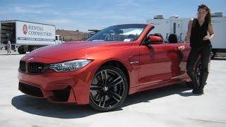 "getlinkyoutube.com-NEW BMW M4 Sakhir Orange / Exhaust Sound / 19"" M Wheels BMW Review"