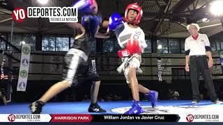 William Jordan vs Javier Cruz  Chicago Harrison Park Boxing Event