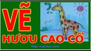 getlinkyoutube.com-Học vẽ Con Hươu cao cổ | How to Draw a Giraffe