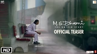 M.S.Dhoni - Official Teaser |