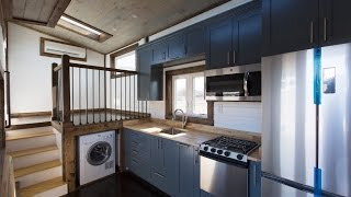 Steel Framed Tiny House Weighs 2,000 Pounds Less