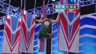 American Ninja Warrior - USA vs the World II 2015 Stage 3 Stefano Ghisolfi
