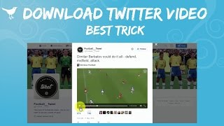 getlinkyoutube.com-How To Save Videos From Twitter - Download Twitter Videos | 2016 Trick/Method