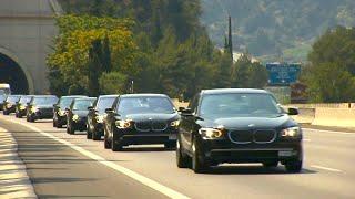 getlinkyoutube.com-200 BMW 7 for the Wedding of HSH Prince Albert II of Monaco [HD]