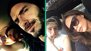 getlinkyoutube.com-David and Victoria Beckham React To Their 17-Year-Old Son's Driving: 'Do I Look Nervous?'