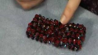 getlinkyoutube.com-Make a Netted Bracelet 2