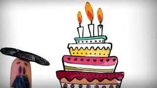 getlinkyoutube.com-Happy birthday song in Spanish, cumpleanos feliz!