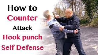 getlinkyoutube.com-How to counter hook punch attack - self defence
