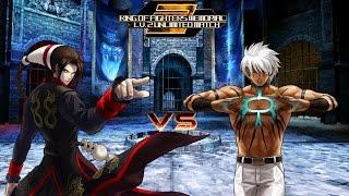 getlinkyoutube.com-[KOF Memorial Lv.2 UM] Boss Psyqhical vs Mizuchi
