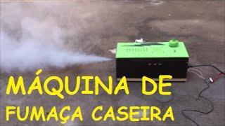 Máquina de Fumaça Caseira