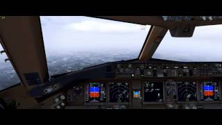 getlinkyoutube.com-P3D V3 - Hard Approuch LOWW ILS RWY29 | Vienna International Airport |