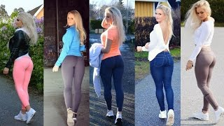 getlinkyoutube.com-Anna Nyström Fitness and Gym Workout Routine