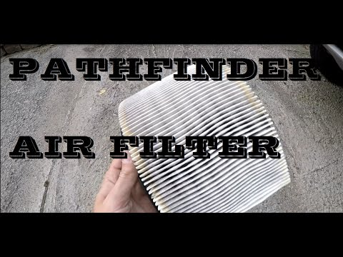 How to replace Nissan Pathfinder Air filter