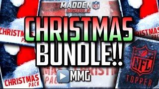 getlinkyoutube.com-CHRISTMAS BUNDLE! Merry Christmas! Madden Mobile 16
