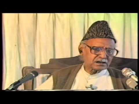 IQBAL DAY (22 Apr Khulqe Khuda Ki Ghat Main) part 06 by Ghulam Ahmed Parwez recorded by tolueisla