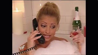 wet trish stratus naked in the bath tub
