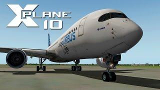 getlinkyoutube.com-XPlane 10: Vuelo completo (LEVC-LEPA) A350 XWB