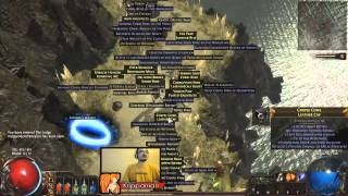 getlinkyoutube.com-[Path of Exile] Turbo Charged Glacial Hammer Cutthroat
