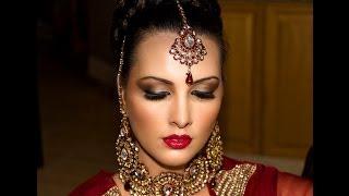 getlinkyoutube.com-Traditional Pakistani/Indian/South Asian bridal makeup
