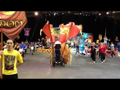 "Ringling Bros Barnum & Bailey ""Dragons"" Rehearsal Preview and Interview"