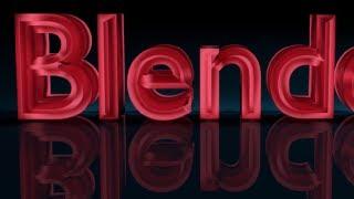 getlinkyoutube.com-Blender Tutorial For Beginners: 3D text