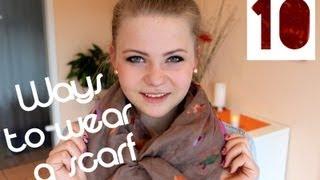 getlinkyoutube.com-10 Ways To Wear A Scarf