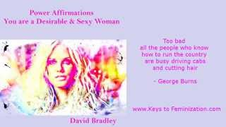 getlinkyoutube.com-Power Affirmations: Feminisation  You Are a Desirable and Sexy Woman