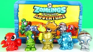 getlinkyoutube.com-Zomlings Adventure: Exclusive Metal Zomlings Collectors Tin Toy Review & Unboxing, Magic Box Int