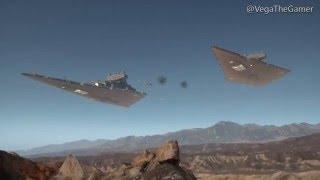getlinkyoutube.com-Star Wars Battlefront: All Ship Scenes for Big Team Maps(With Battle of Jakku)