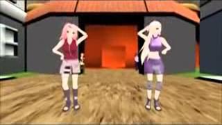 getlinkyoutube.com-SAKURA HARUNO  AND INO DANCE