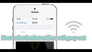 getlinkyoutube.com-How to fix broken wifi or solve wifi get grey out issues