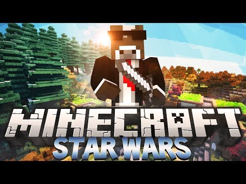 Minecraft STAR WARS MOD - SITH VS JEDI w/ JeromeASF, Bodil & More (StarWars Mod Battle In Minecraft)