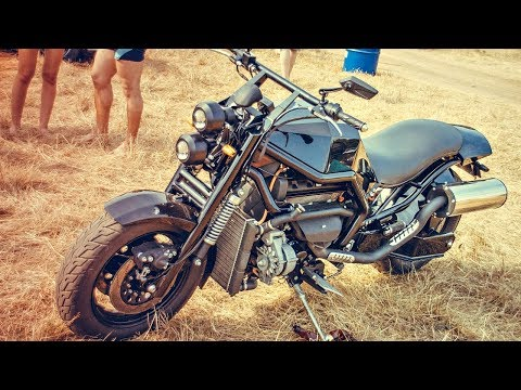 Мотоциклы с Двигателями Заз, Ваз, Газ, Иномарки?!