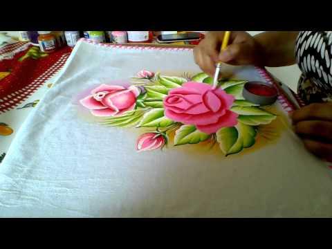 ensinando a pintar rosas cor de rosa (com lia ribeiro)