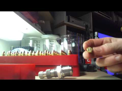 Reloading 9mm 115gr Hornady FMJ with a Lee press