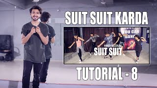 Dance Tutorial Suit Suit Karda   Step By Step   Vicky Patel Choreography   Hindi   India