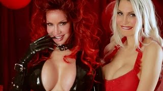 getlinkyoutube.com-Sexy Bianca Beauchamp's Krampus + naughty Bella French