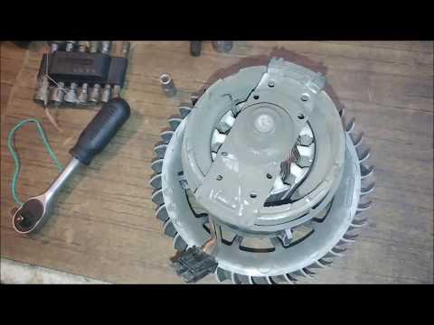 066(1) снятие бардачка+печки Audi Q7
