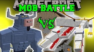 getlinkyoutube.com-IRON WILL VS THE KING - Minecraft Mob Battles - Minecraft Mods